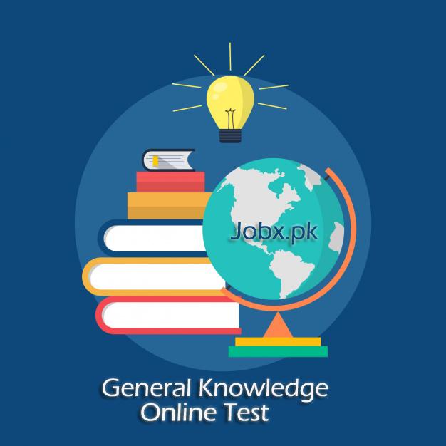 General Knowledge MCQs Online Test Preparation for NTS, PPSC, FPSC, JTS, OTS
